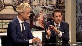 Geert Wilders en Tom Van Grieken te gast in Terzake