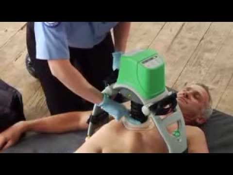 Lucas CPR device  In Service Training Video  2013  YouTube