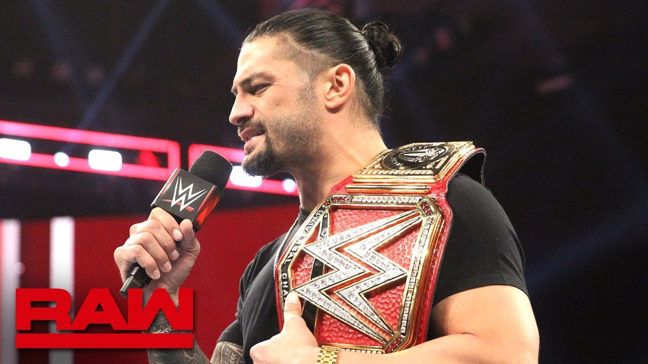 roman reigns appearance set
