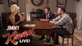 Jimmy Kimmel & Guillermo Get a Reading From the Long Island Medium