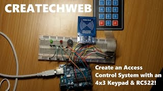 Download RFID & Keypad Arduino Door Lock Clip Video MP4 3GP M4A