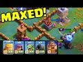 YOUR INPUT WANTED - Clash of Clans Builder Hall UPDATE - MAXED out Gameplay!