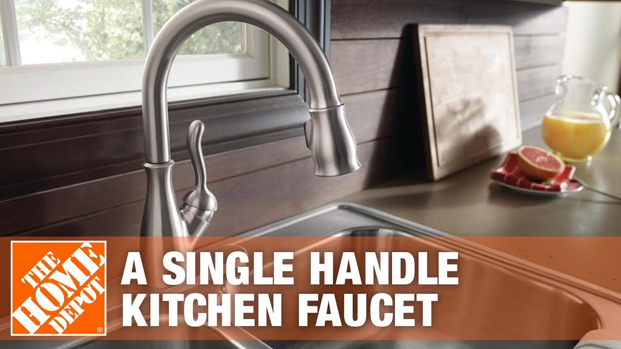 home depot delta kitchen faucets remodeling ideas on a budget faucets-how to install single handle ...
