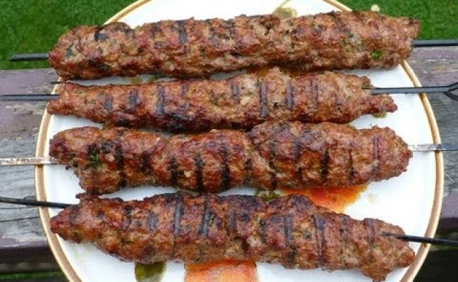 Easy Recipes For Ground Beef Grilled Koftas Kabobs Youtube