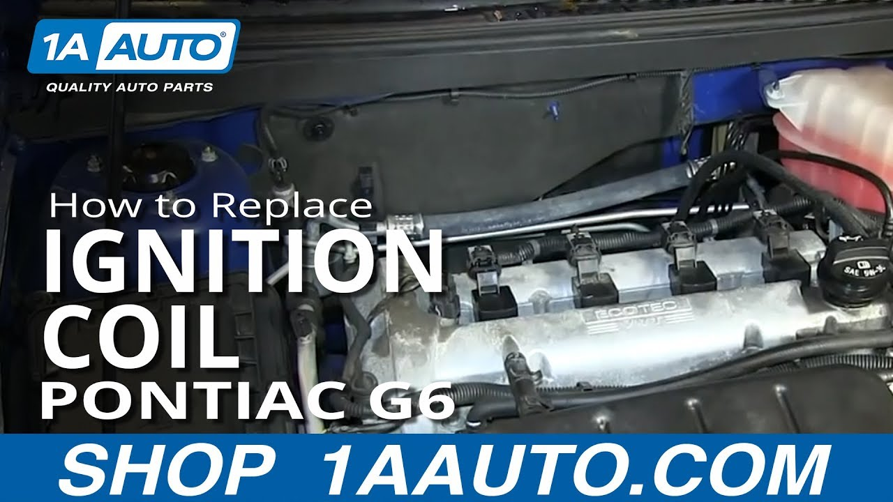 1996 Ford Taurus Alternator Wiring Diagram How To Install Replace Engine Ignition Coil 2 4l Pontiac
