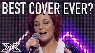 Bella Ferraro's INCREDIBLE ″Skinny Love″ Cover Has Judges Standing On Tables! | X Factor Global