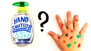Is Hand Sanitizer Actually Bad For You? Video