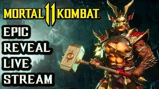 MK 11 Reveal Event Live Stream. Mortal Kombat 11 Gameplay, Story, Characters and More!