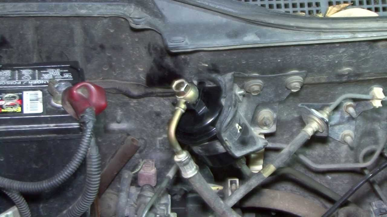 1996 Honda Civic Fuel Filter How To Change Your 95 00 Civic Fuel Filter Youtube