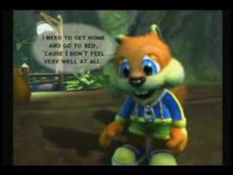 The Adventures Of Conker The Squirrel Hangover YouTube
