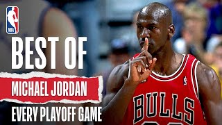 Michael Jordan's Best Play of Every NBA Playoff!