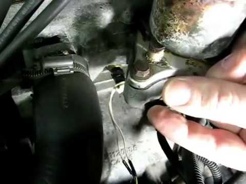 2009 Tacoma Fuel Filter Engine Coolant Temperature Sensor Remove And Replace
