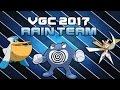 RAIN TEAM VGC 2017   Moves and Ev's   Pokemon Sun and Moon