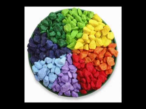 Pietre decorative colorate  EVIDECOR  YouTube