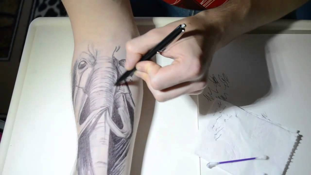 Ballpoint Pen  Tattoo Xd Youtube