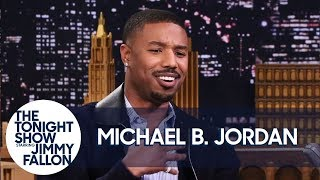 Michael B. Jordan on Push-Ups with Lupita Nyong'o and Not Saying ″Wakanda Forever″