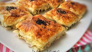 Alt Üst Böreği Tarifi | Kolay ve en leziz Börek | Tadimiztuzumuz