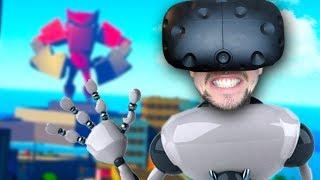 DESTROY EVERYTHING   VRobot (HTC Vive Virtual Reality)