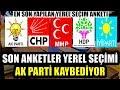 AKP'YE KENDİ ANKENTLERİNDE ŞOK SONUÇ