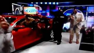 FUNNY FAMILY FEUD MOMENT...won a car!!