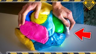 What Can You Do With 1,000 SILLY PUTTY Eggs?