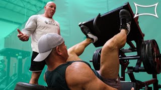 Stan ″The Rhino″ Efferding's EPIC LEG WORKOUT For MASSIVE QUADS!   ″I NEVER Did Squats or Deadlifts″