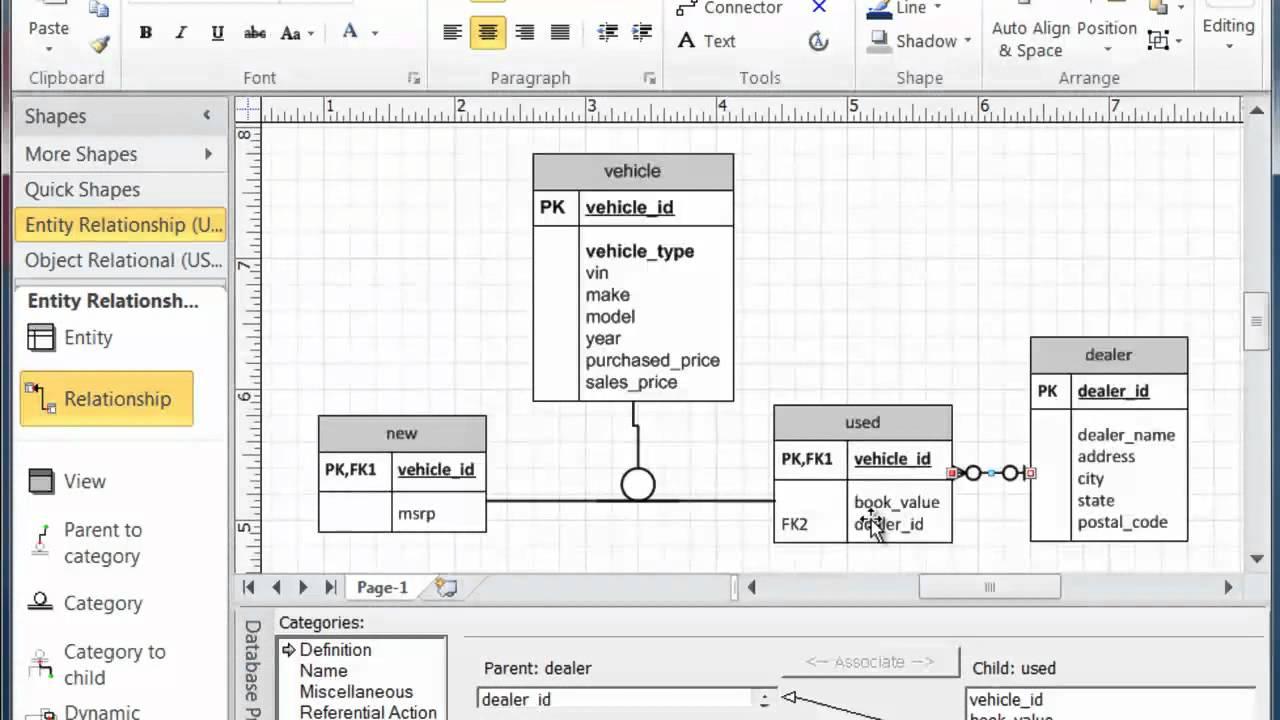 Mysql workbench eer diagram relationships dating