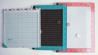 MISTI vs WRMK PRECISION PRESS vs HAMPTON ART STAMP PERFECT Comparison...