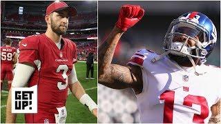 Could Cardinals trade Josh Rosen to Giants for Odell Beckham, then draft Kyler Murray? | Get Up!