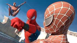 Spider-Man: Homecoming vs. The Amazing Spider-Man vs. Spider-Man | SUPERHERO BATTLE