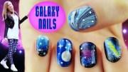 galaxy nails 5 nail art