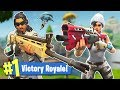 FORTNITE w/ MY GIRLFRIEND!! (EPIC WIN)