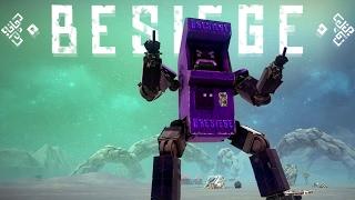 Besiege - Kung Fury Arcade, Marine Crustaceans & Competition Winner! - Besiege Best Creations