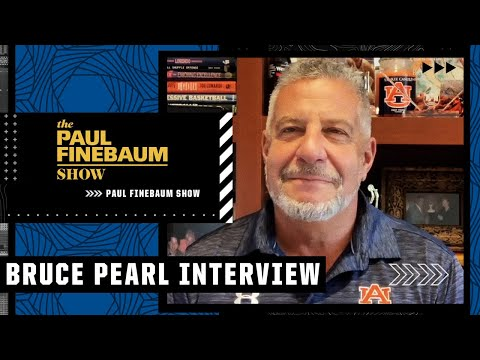 Bruce Pearl reacts to viral shirtless celebration, self-imposed ban & more! | The Paul Finebaum Show