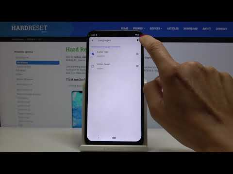 How to Change Keyboard Language in NOKIA 8.1 – Find Keyboard Dictionary