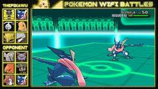 (Pokemon X and Y Wifi Battle)