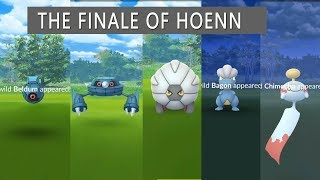 These are the Last Gen 3 Hoenn Pokemon Caught Metang, Metagross, Bagon, Shelgon, Beldum, Salamence