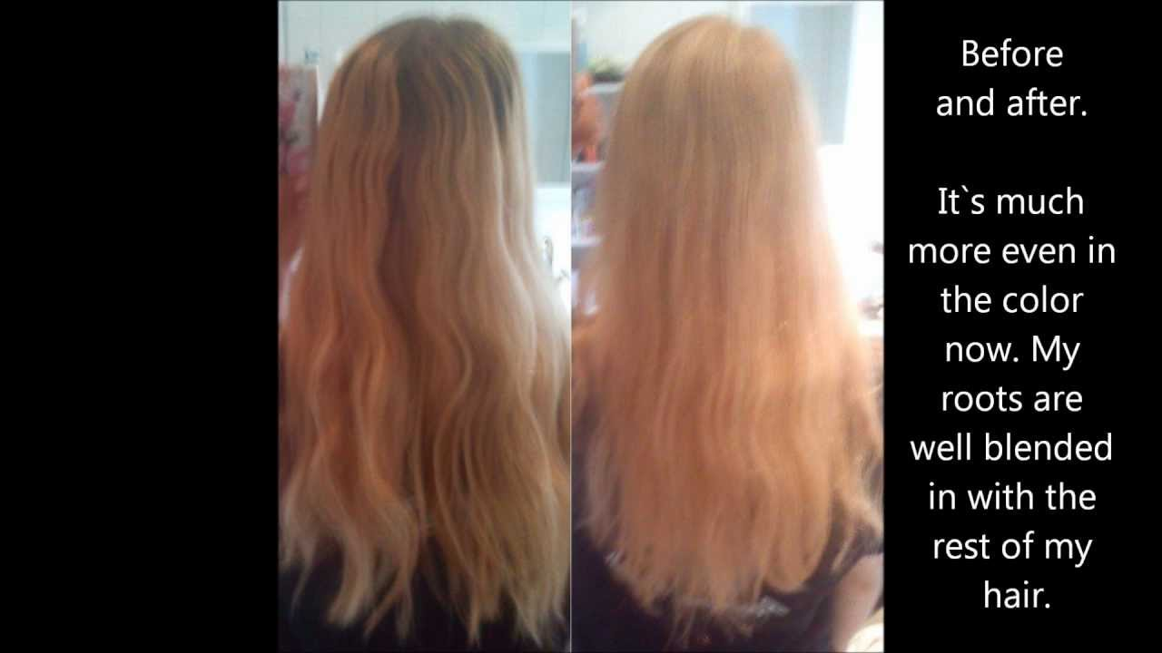 Coloring My Roots Light Blonde With Naturtint Permantent