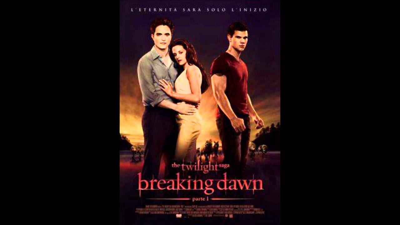 Breaking Dawn Soundtrack  Bellas Lullaby  Bellas trasformation  YouTube