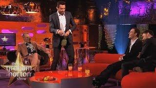 Hugh Jackman Nearly Chops Off His Penis - The Graham Norton Show