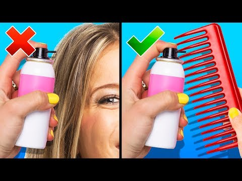 25 HAIR HACKS FOR EVERYDAY LIFE