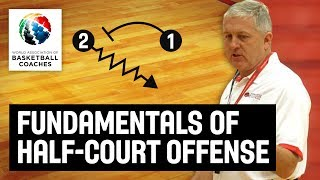 Fundamentals of Half-Court Offense - Don Showalter USA Youth Basketball - Basketball Fundamentals