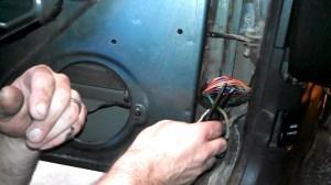 How to fix Door Speakers on Jeep Cherokee  Fixing Broken Wires in Door Jamb  YouTube