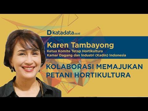 Karen Tambayong: Kolaborasi Memajukan Petani Hortikultura | Katadata Indonesia