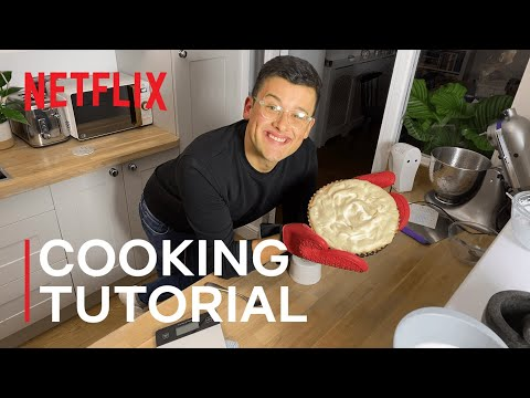The Great British Bake Off's Michael Chakraverty Takes On Pumpkin Pie I The Most I Netflix