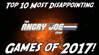 Top 10 Most Disappointing Games of 2017!