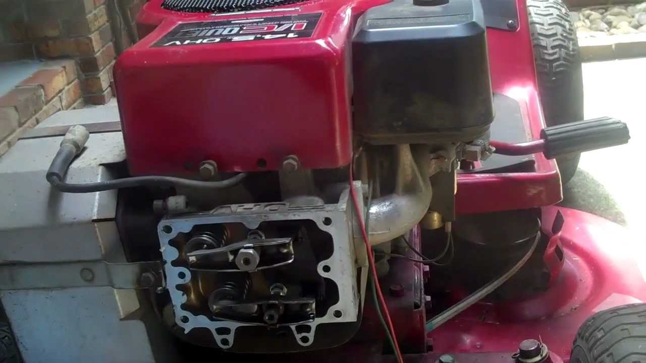 11 Hp Honda Wiring Diagram Adjusted Valves On 14 5 Hp Briggs Amp Stratton Starts