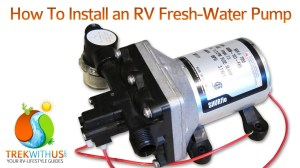 How to Install a SHURflo Fresh Water Pump  RV DIY  YouTube