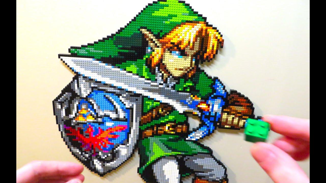 LEGO Link The Legend Of Zelda YouTube