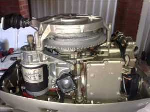 35Hp Evinrude Electric Conversion 1978 Model  YouTube